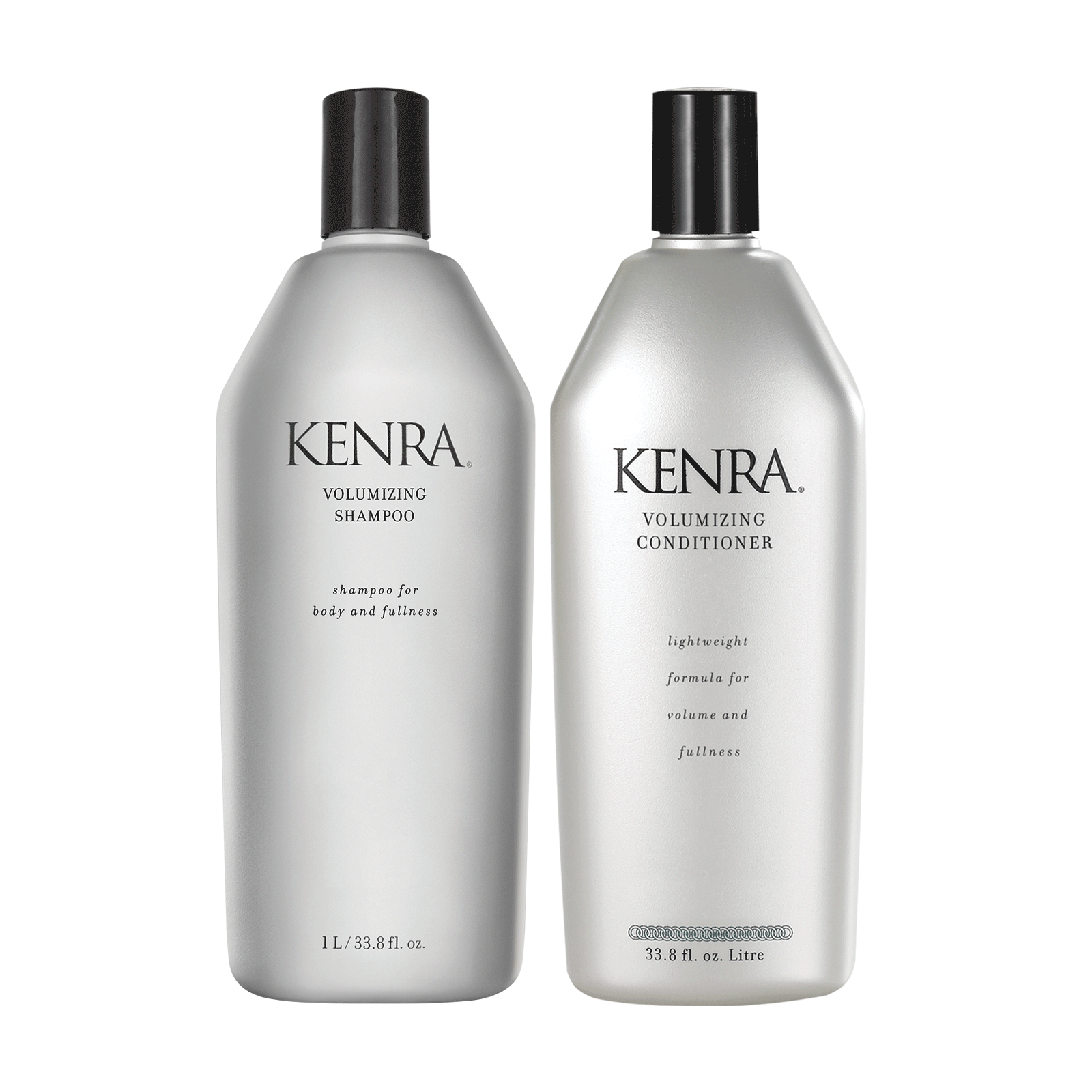 Volumizing Shampoo, Conditioner Liter Duo