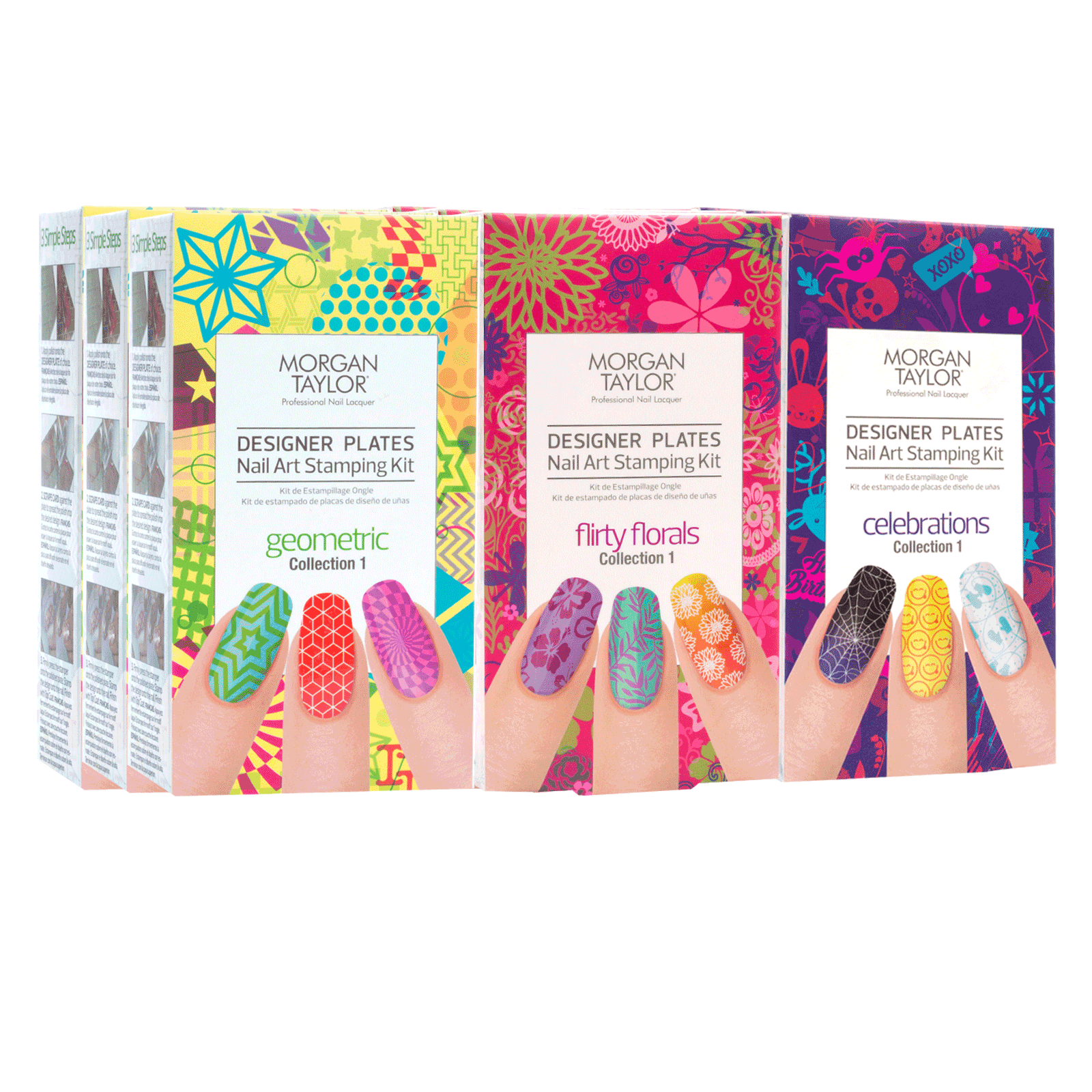 Nail Art Stamping Kit - 9 count display - Morgan Taylor | CosmoProf
