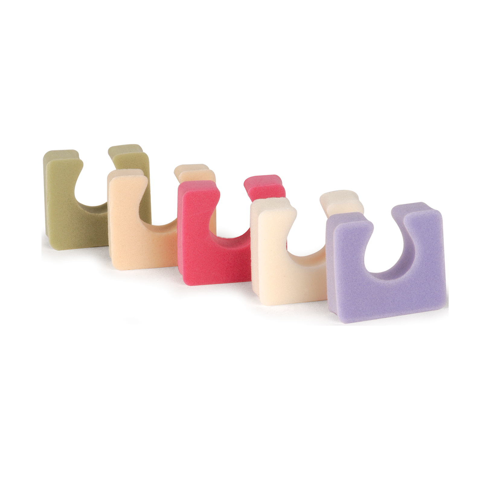 StarPro Toezees Toe Separators - Assorted Colors