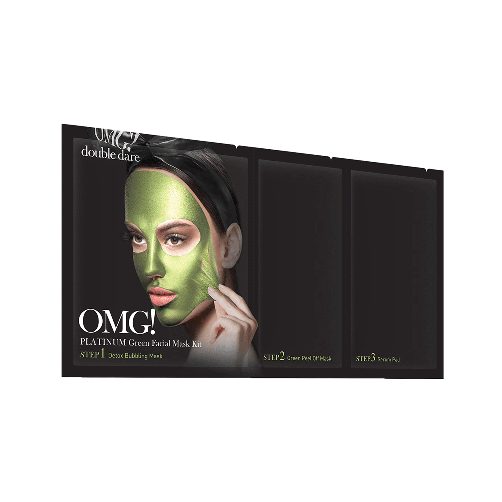 OMG! Platinum Green Face Mask