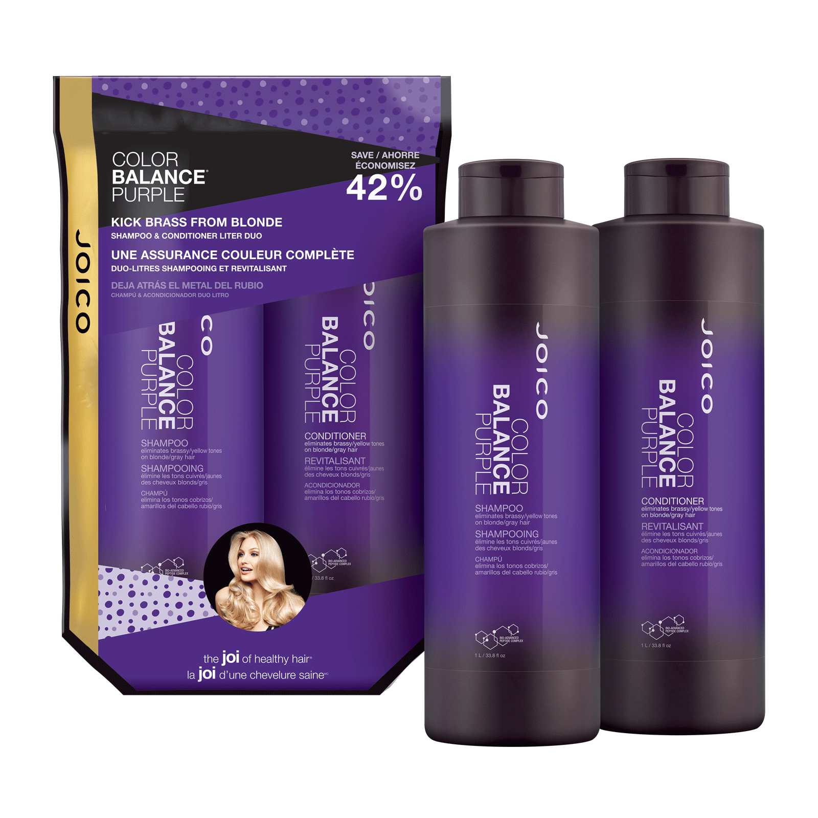 Color Balance Purple Shampoo & Conditioner Duo