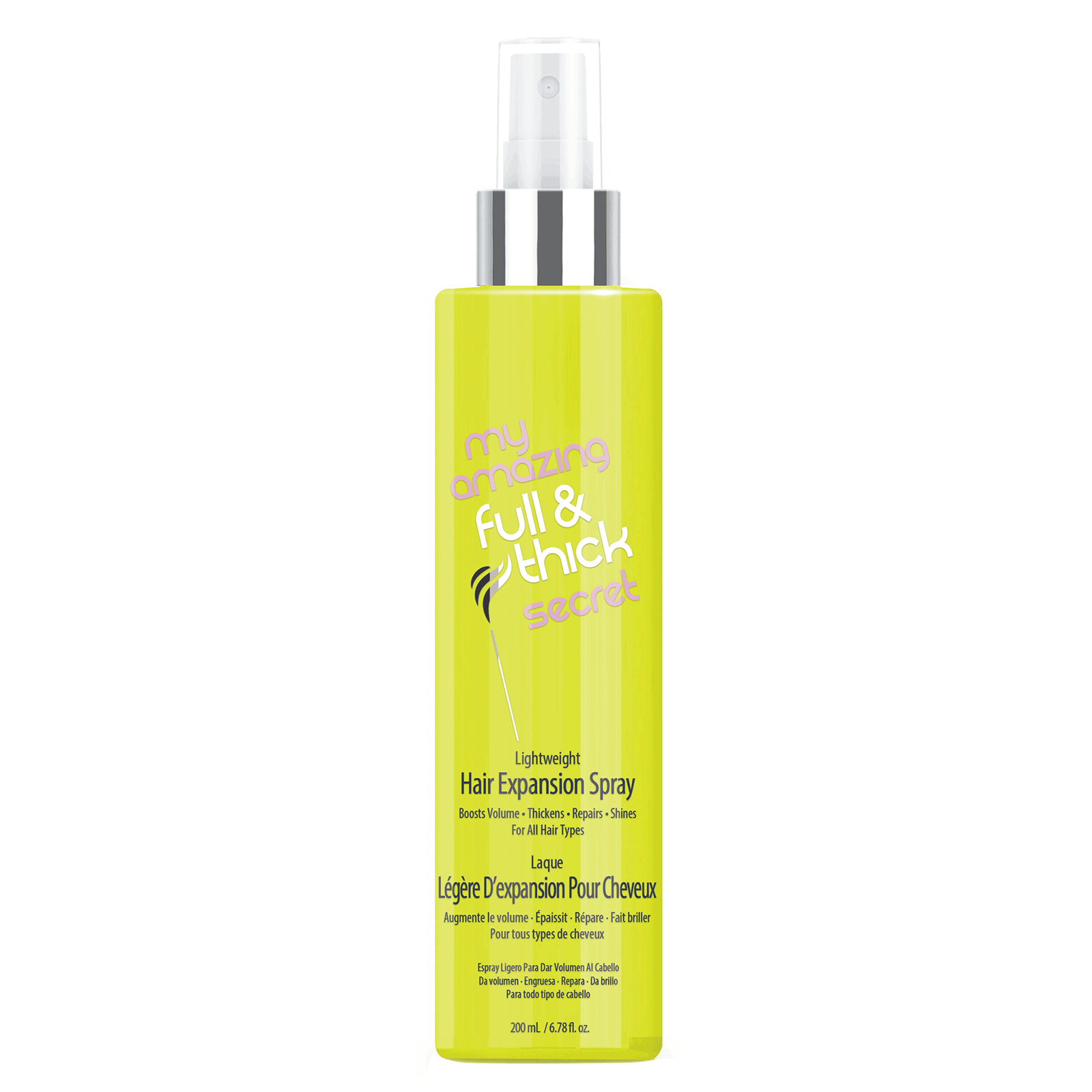 Full and Thick Secret Hair Expansion Spray