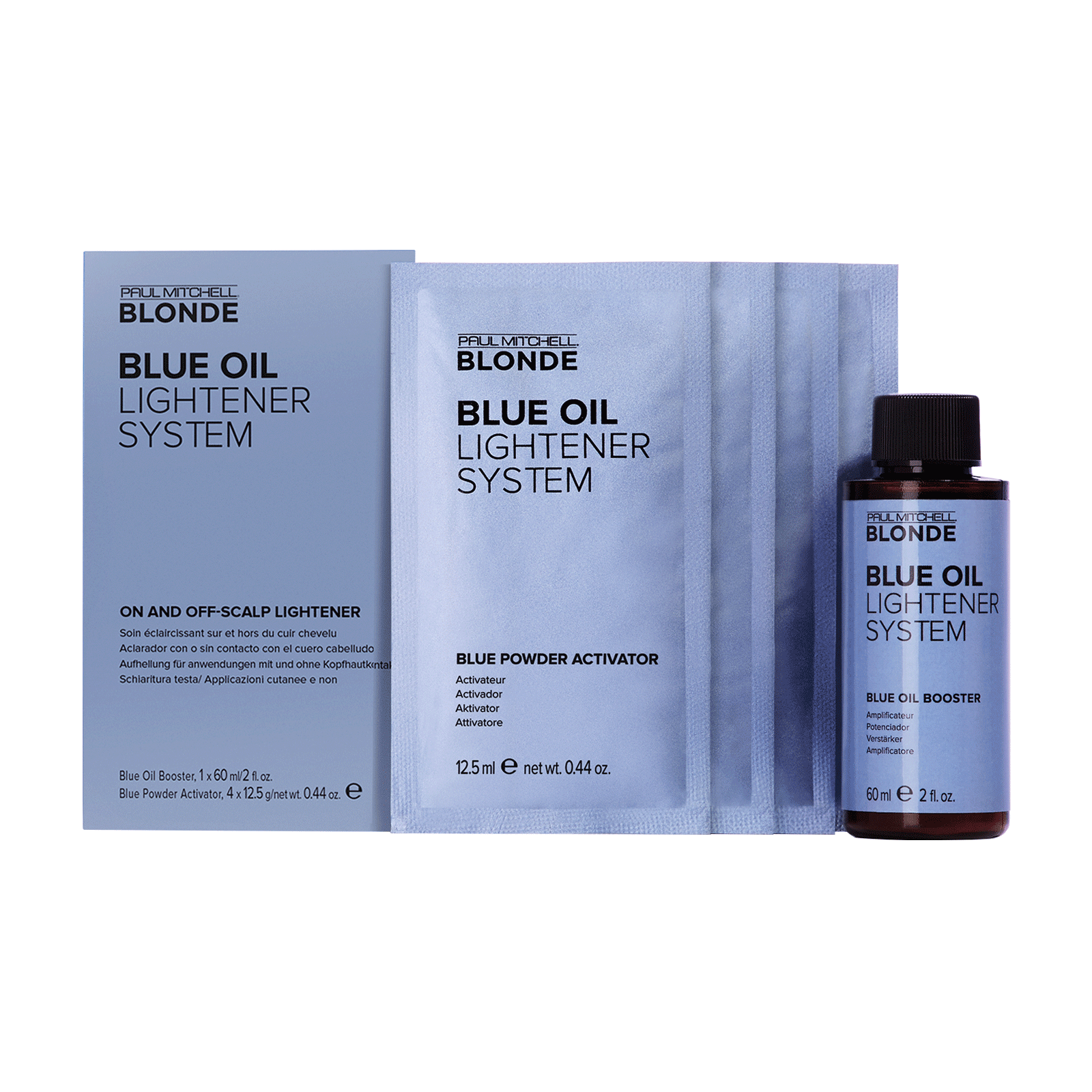 Blue Oil Lightener System