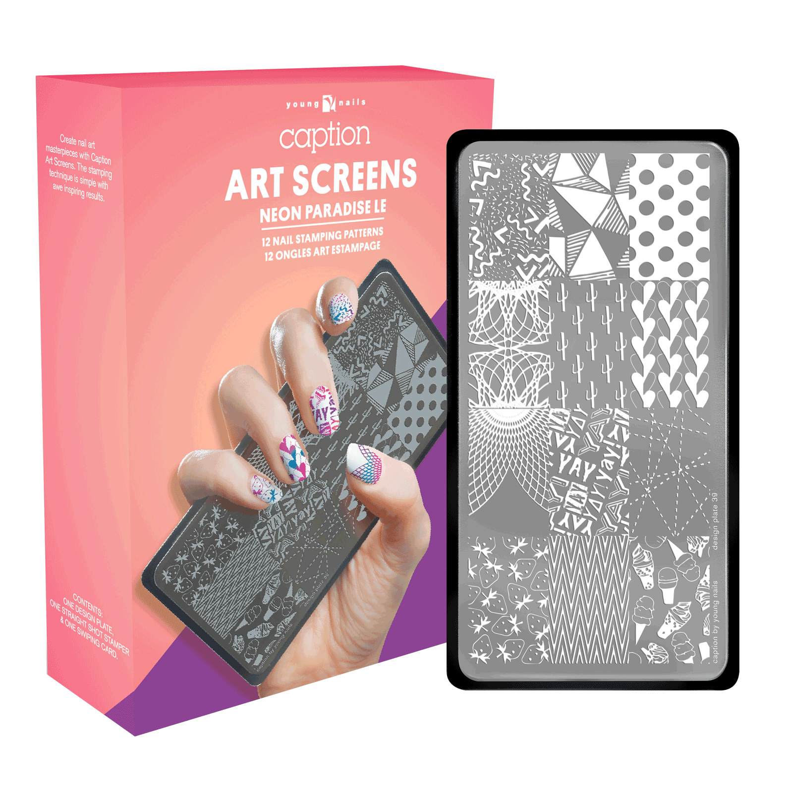 NEON Paradise Art Screen - Young Nails Inc | CosmoProf