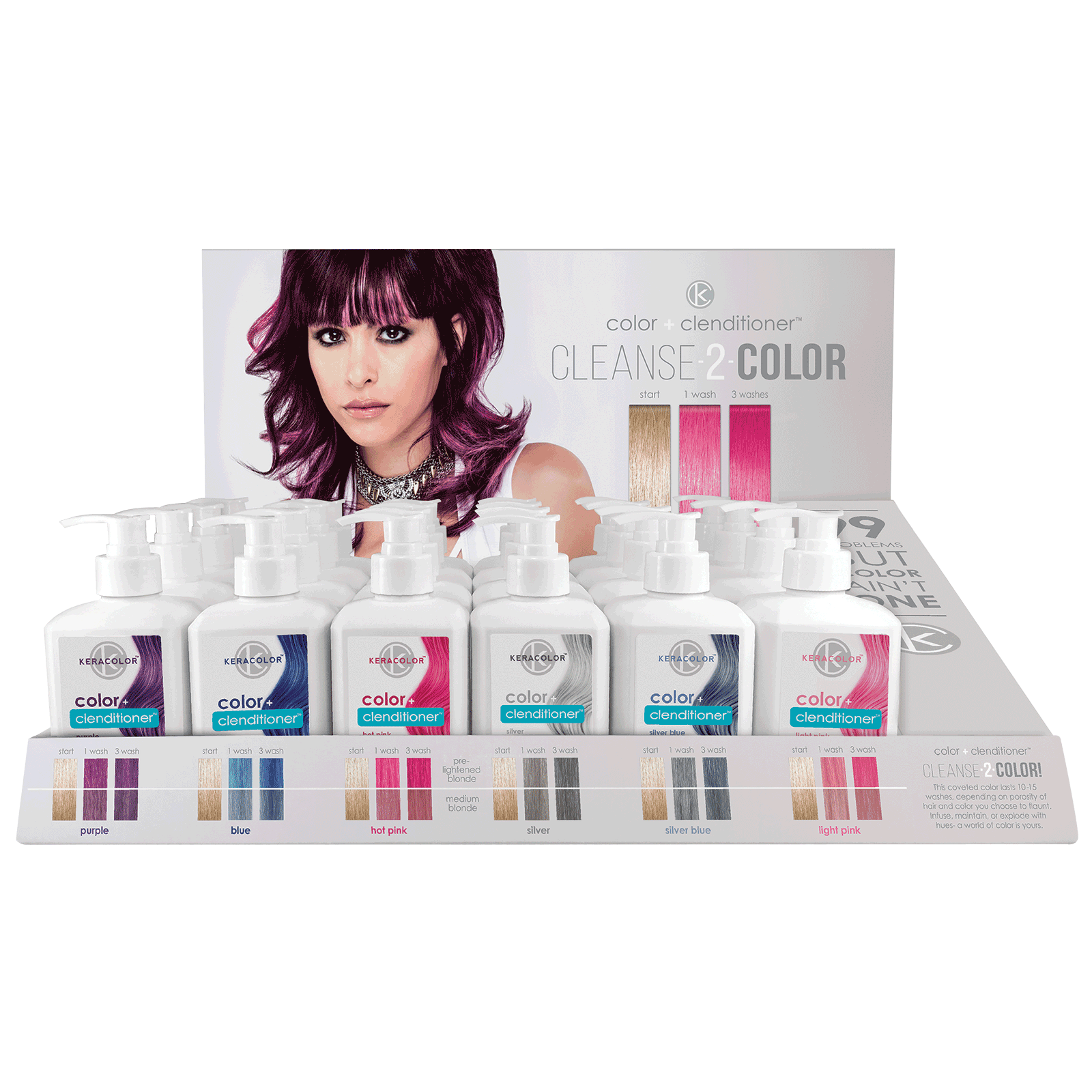 Color clenditioner salon intro keracolor cosmoprof for Beauty salon introduction