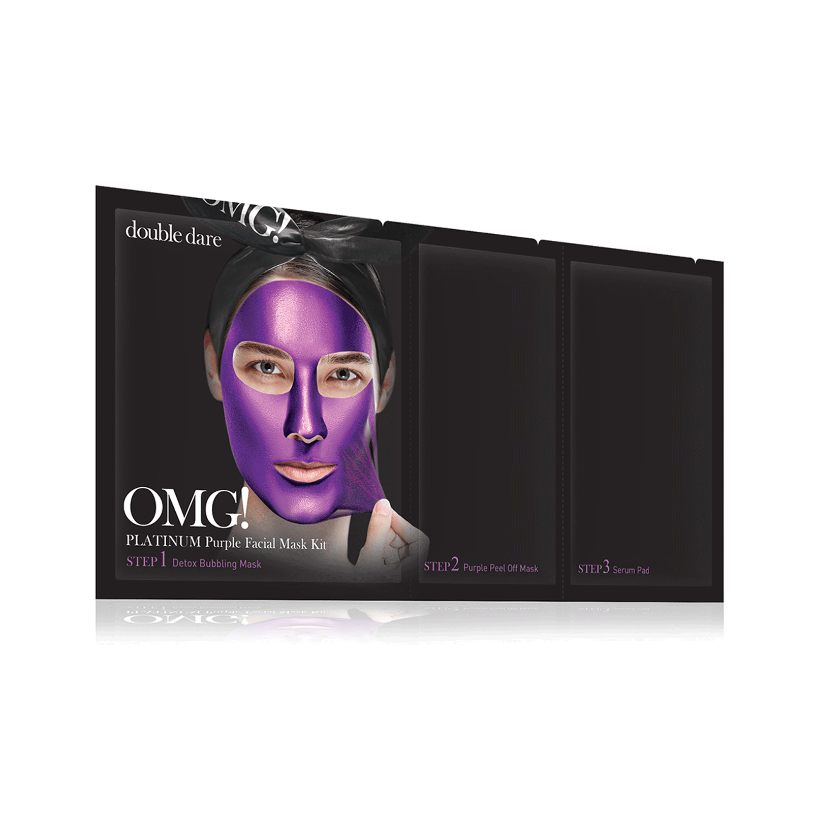 OMG! Platinum Purple Face Mask