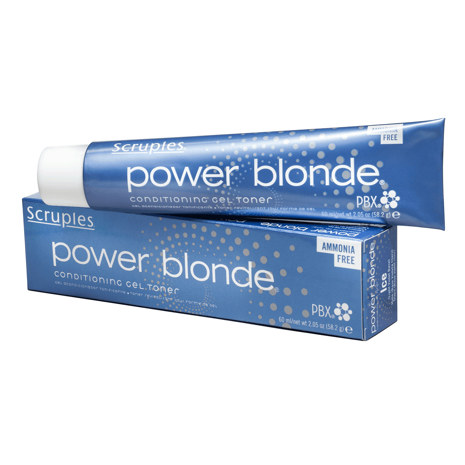 Power Blonde Conditioning Gel Toner - Iris