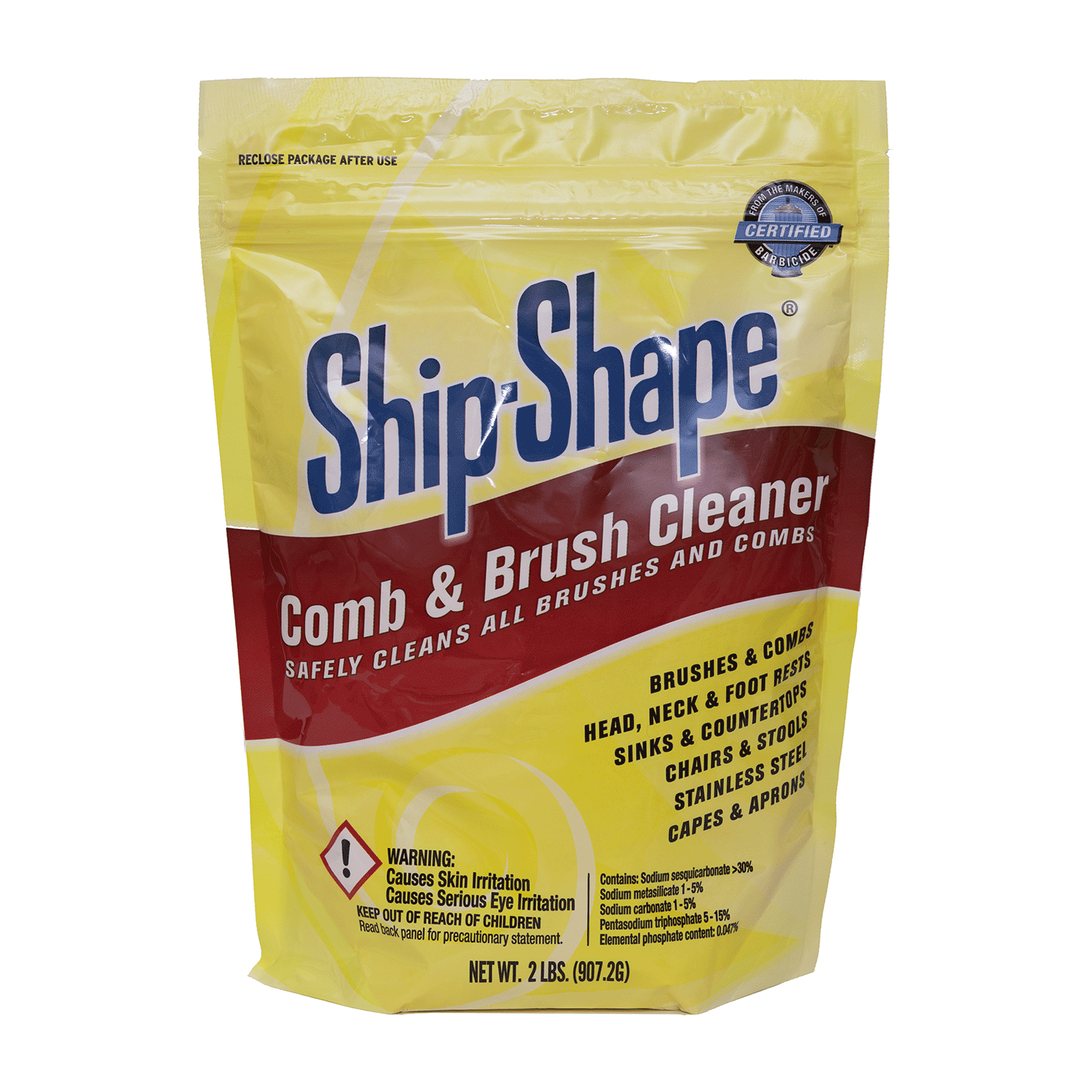 Ship-Shape Comb & Brush Cleaner - King Research Barbicide