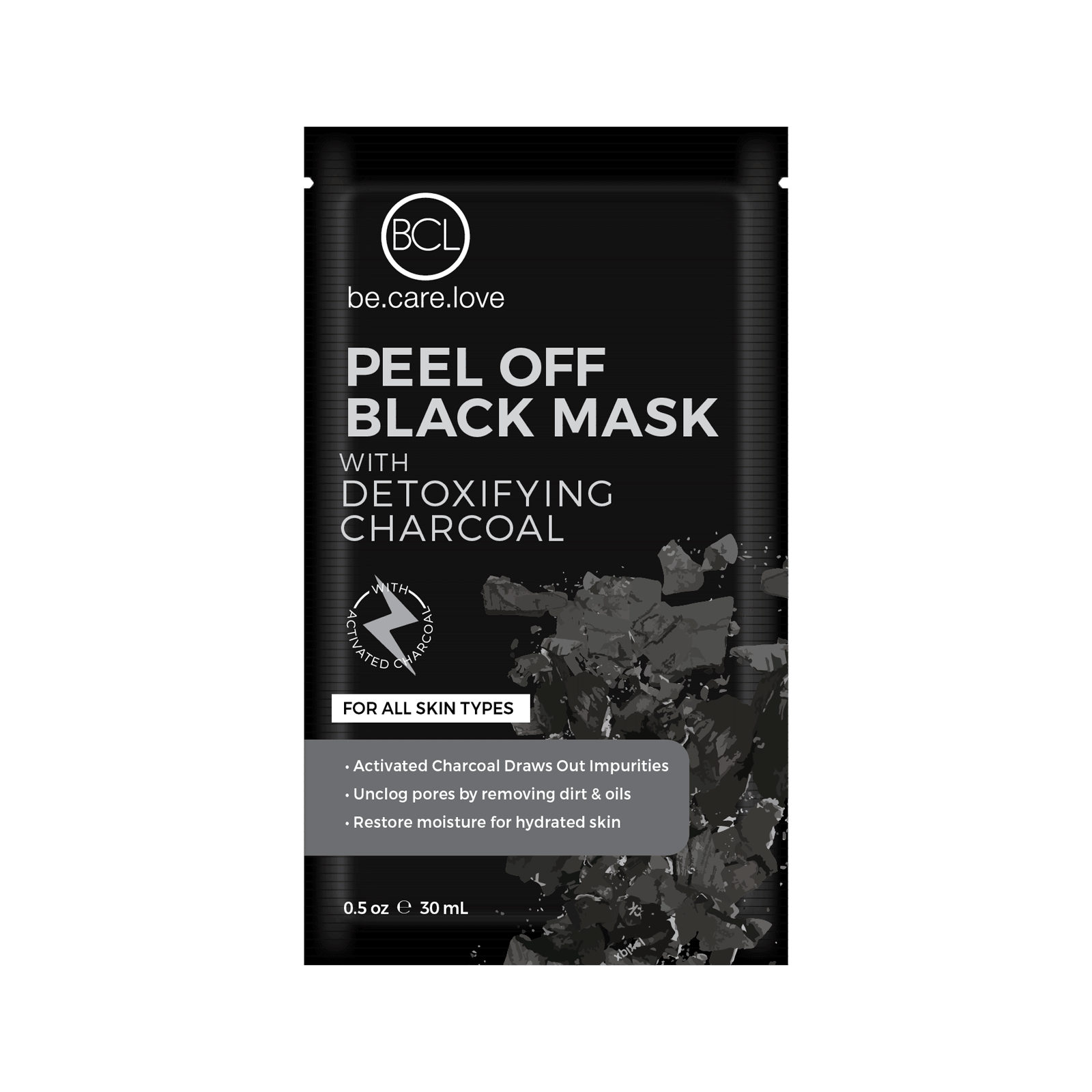 Peel Off Black Mask with Detoxifying Charcoal