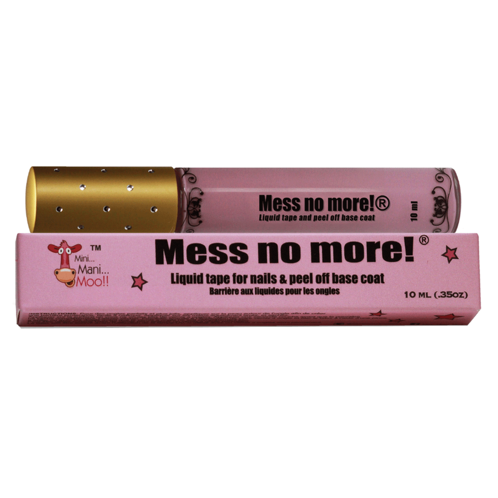 Mess No More® Liquid Tape - Mini Mani Moo