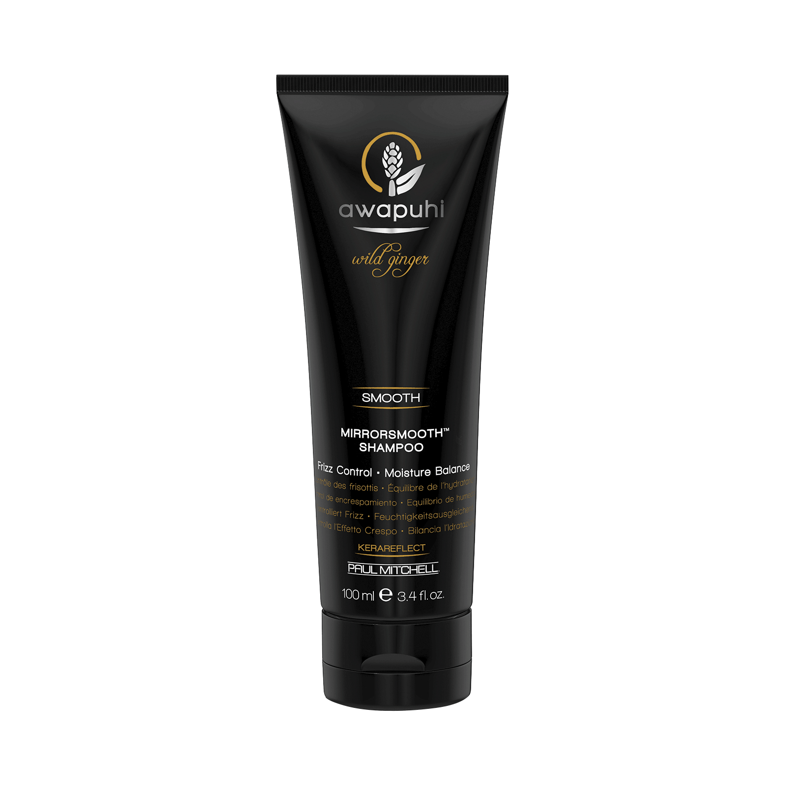 awapuhi wild ginger mirrorsmooth shampoo john paul mitchell systems cosmoprof. Black Bedroom Furniture Sets. Home Design Ideas