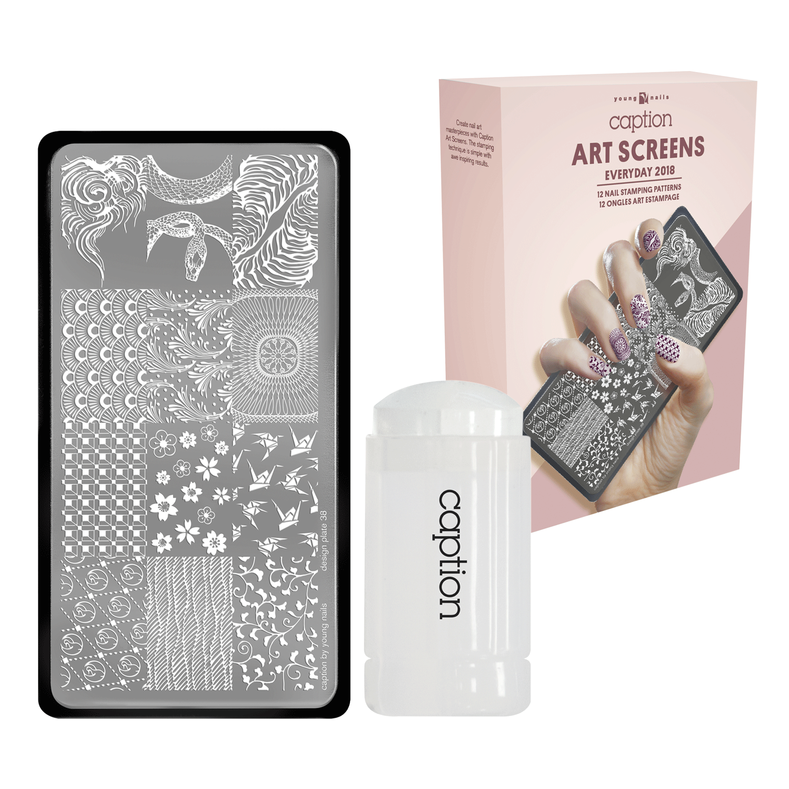 Caption Everyday Art Screen Young Nails Inc Cosmoprof