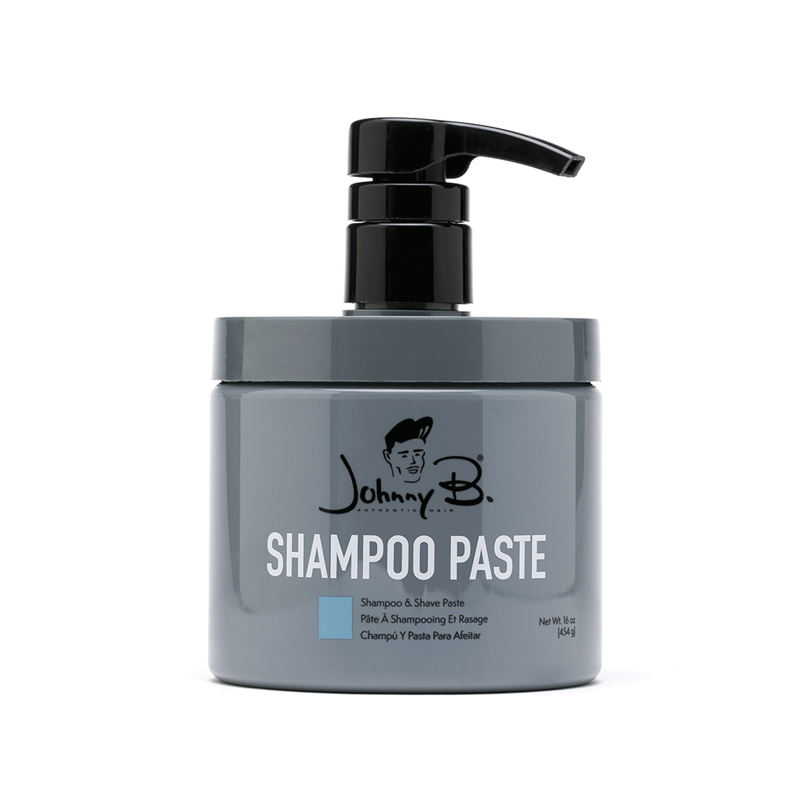 Shampoo Paste with Pump