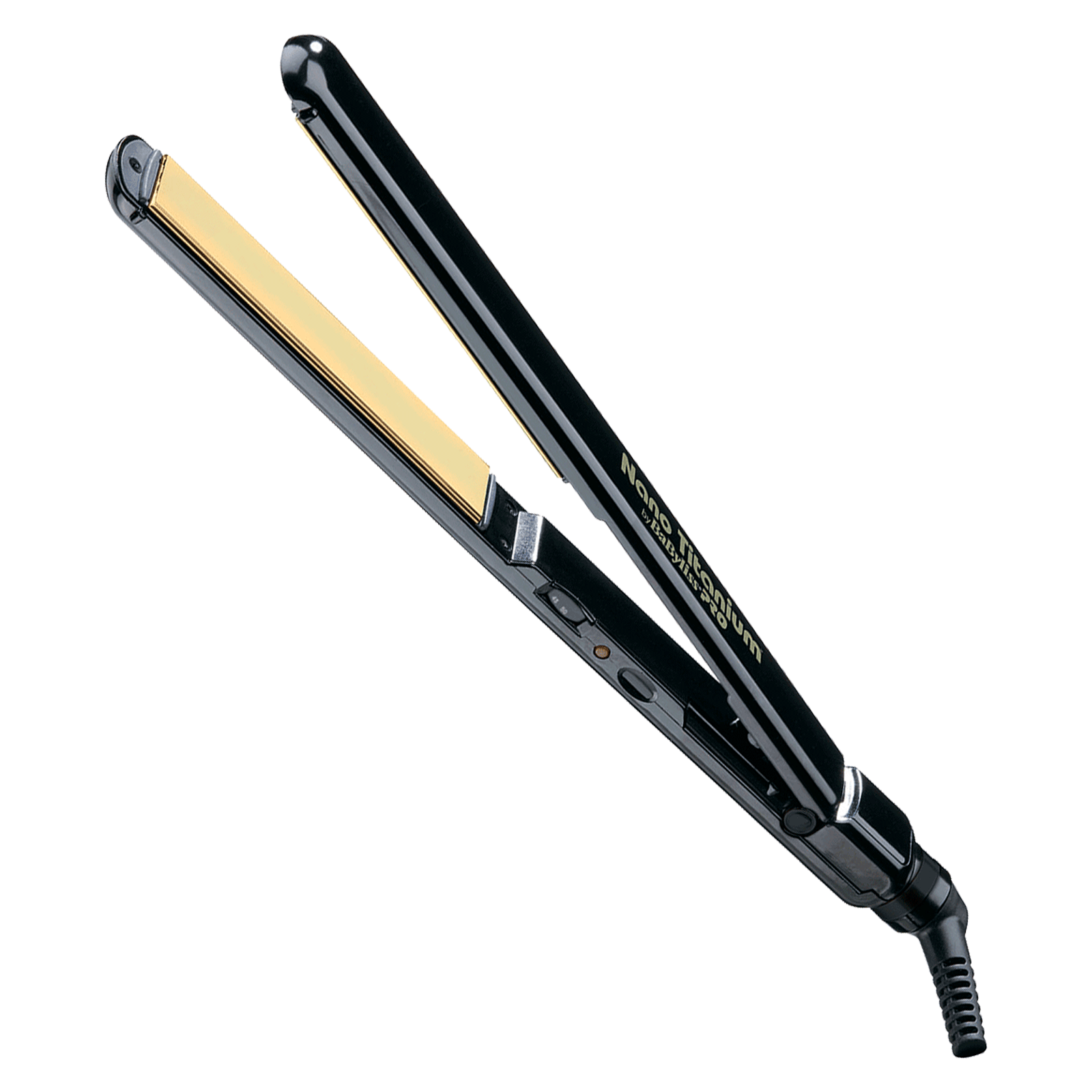 BaBylissPRO Licensed to Create Black/Gold Flat Iron 1 Inch