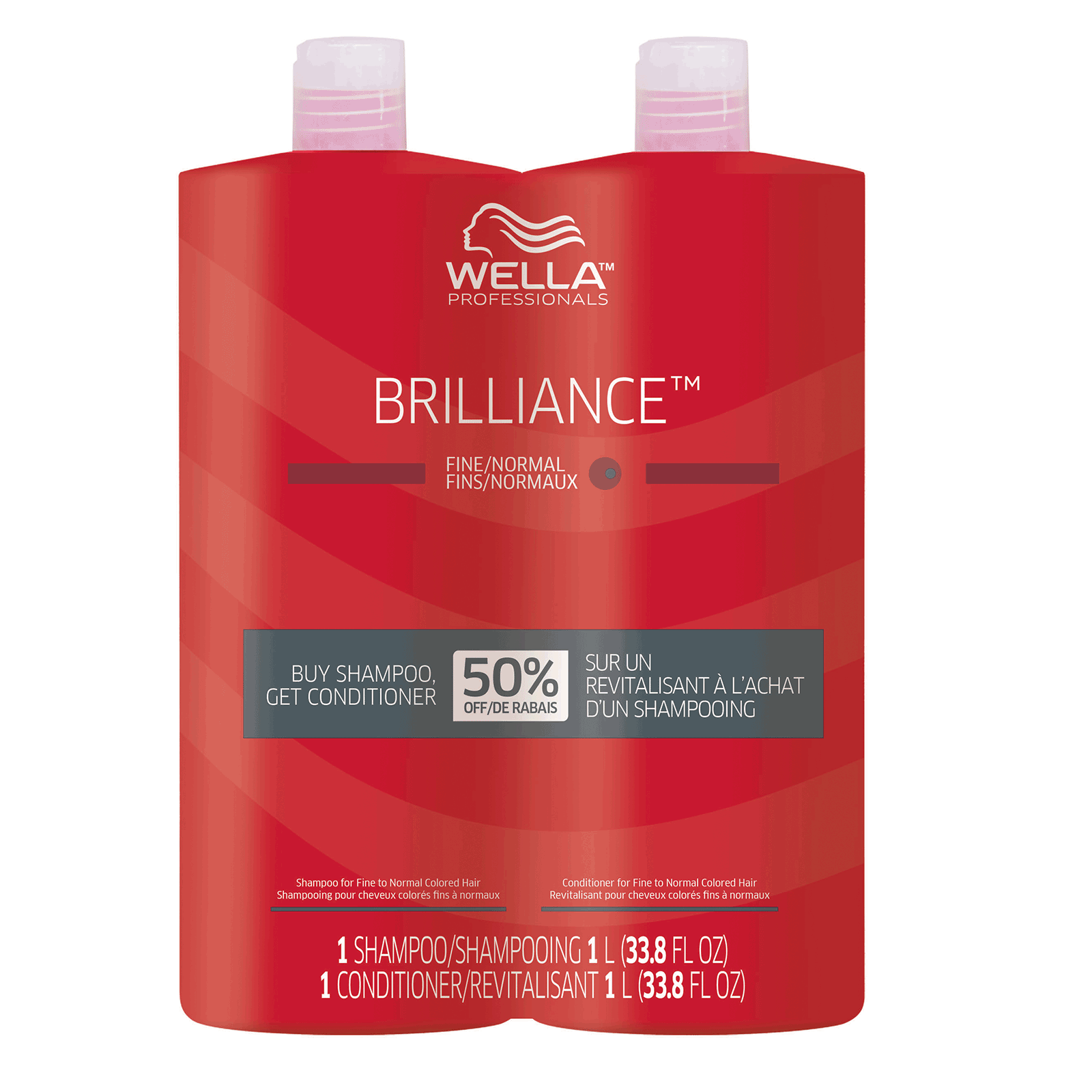 shampoo e condicionador wella brilliance