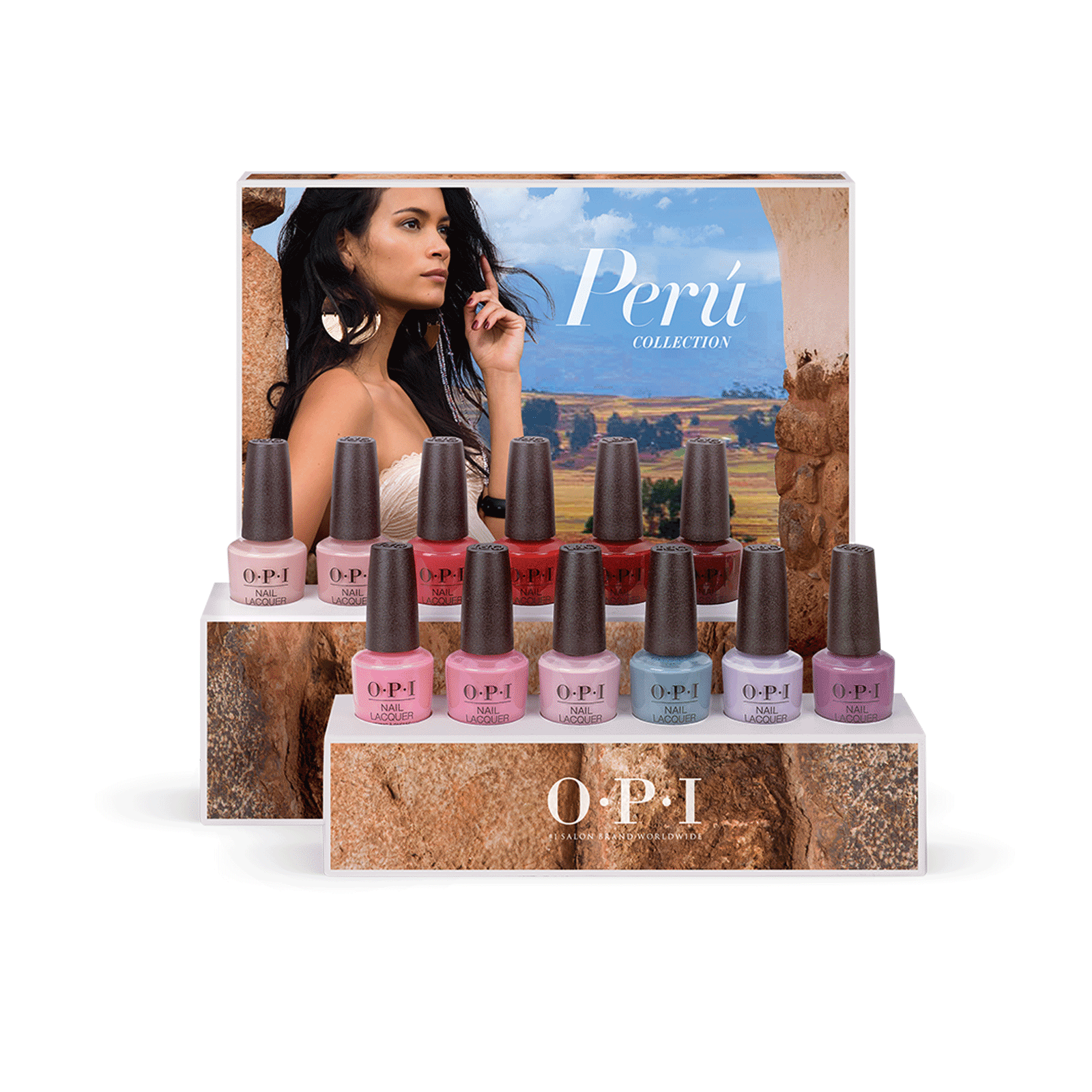 Peru Collection Nail Lacquer 12 Count Display