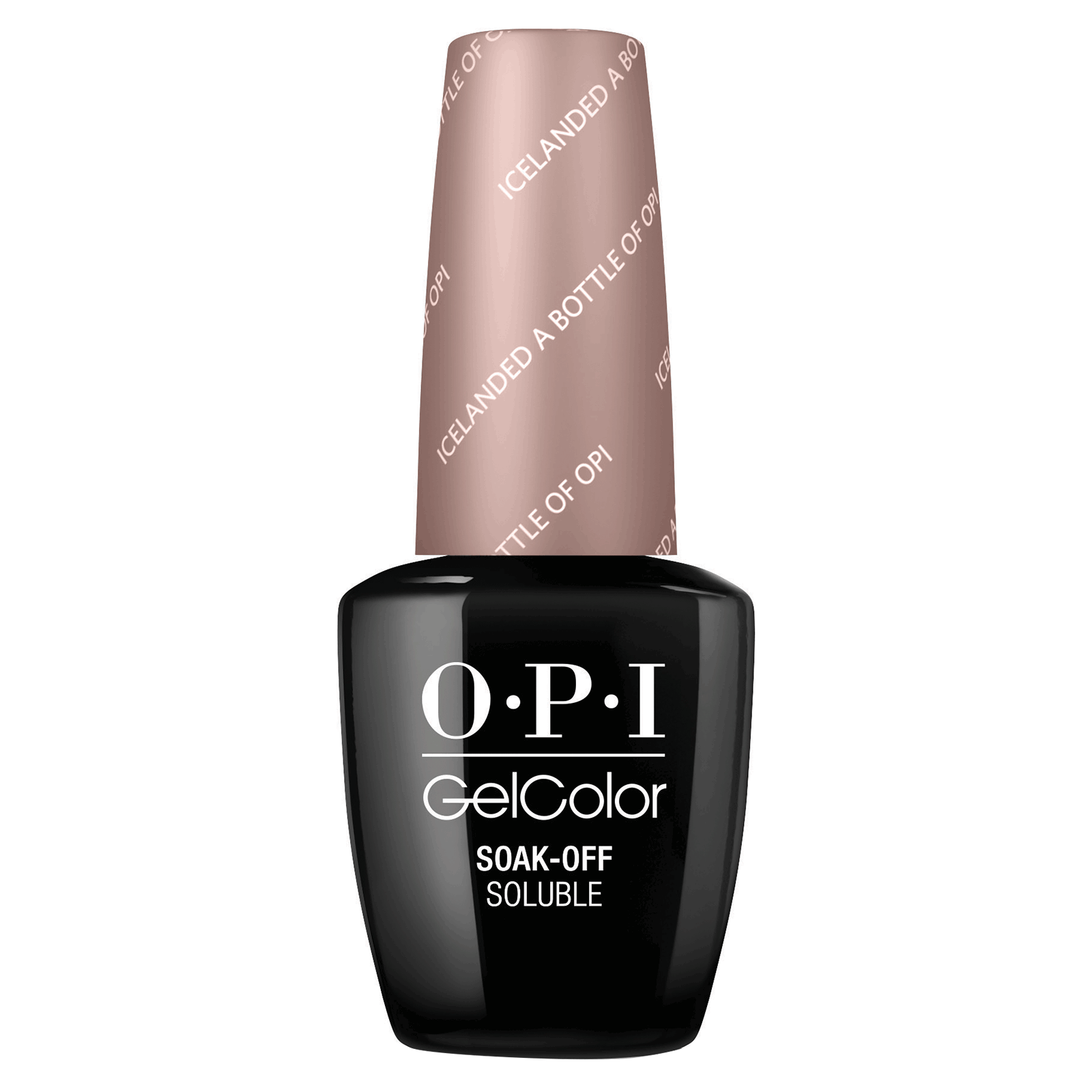 OPI Gelcolor - Icelanded a Bottle of OPI