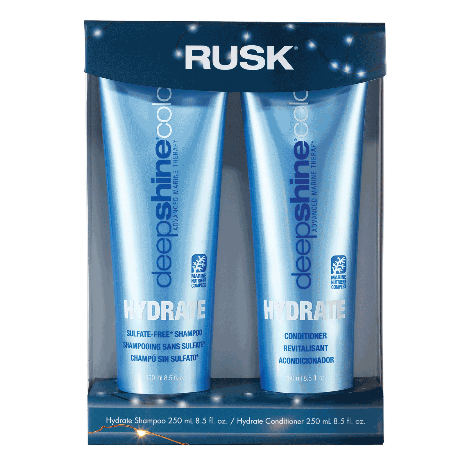 Deepshine Color Care Shampoo Conditioner Duo Rusk Cosmoprof
