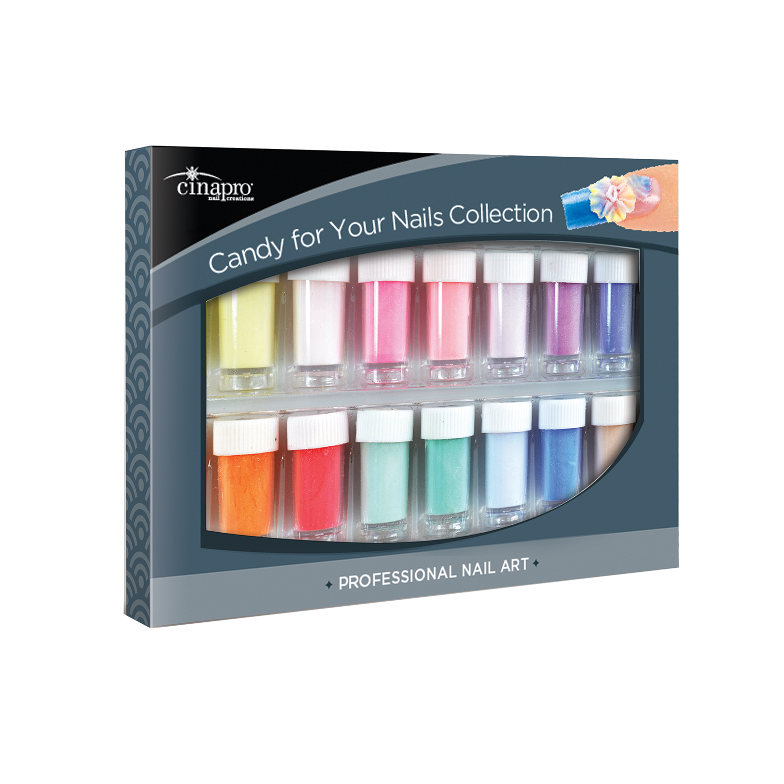 CinaPro Candy For Nails Collection