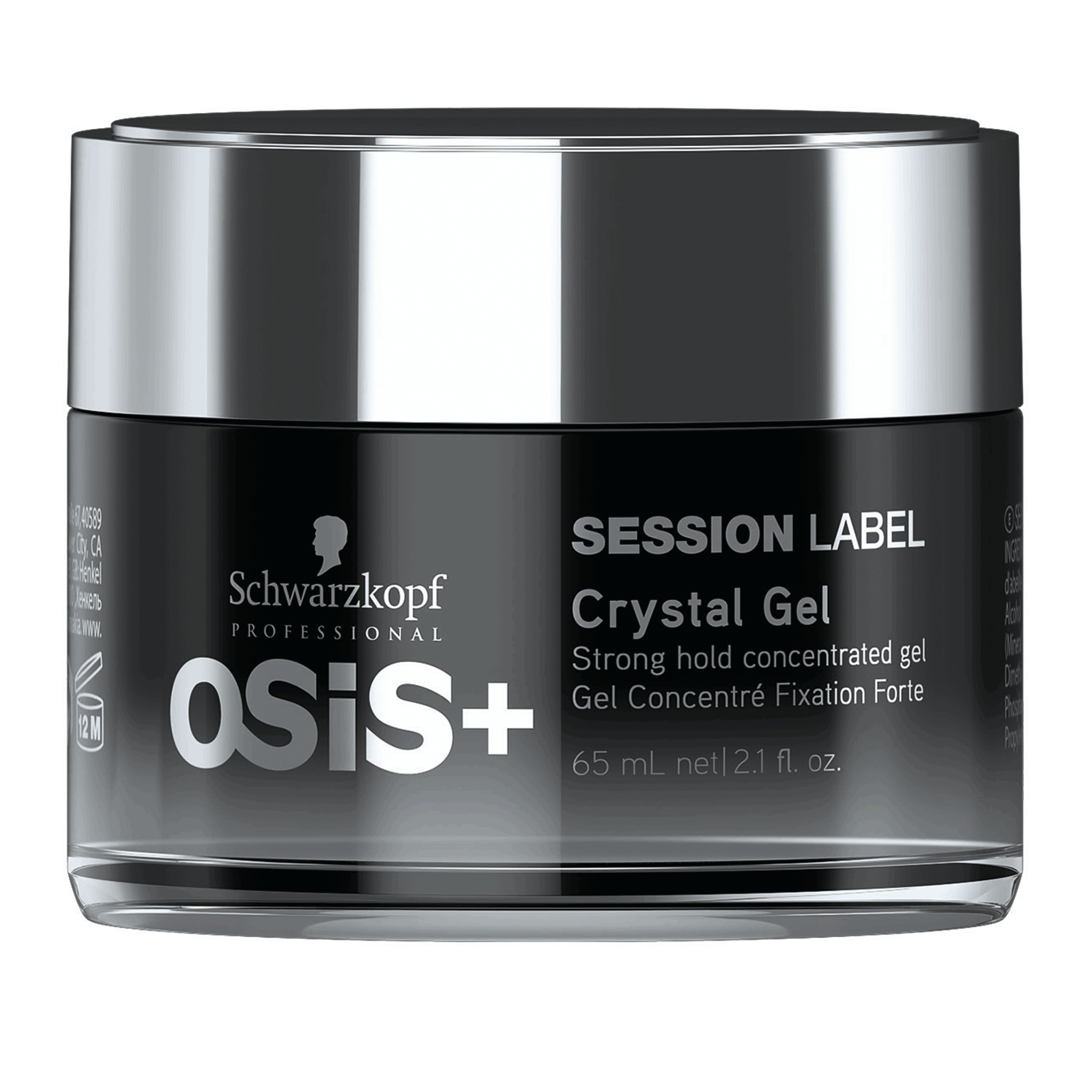 OSIS+ Session Label - Crystal Gel