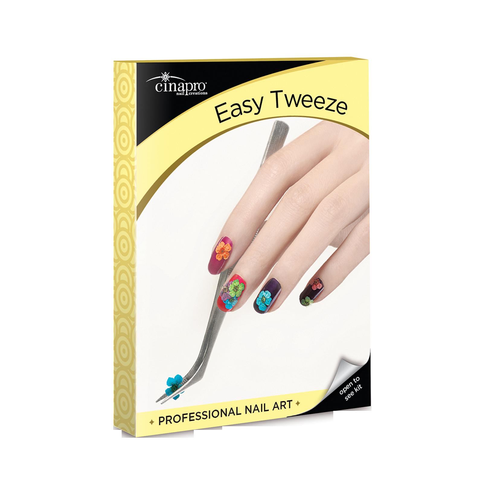 Cinapro Professional Nail Art Easy Tweeze Cuccio Cina Pro Star