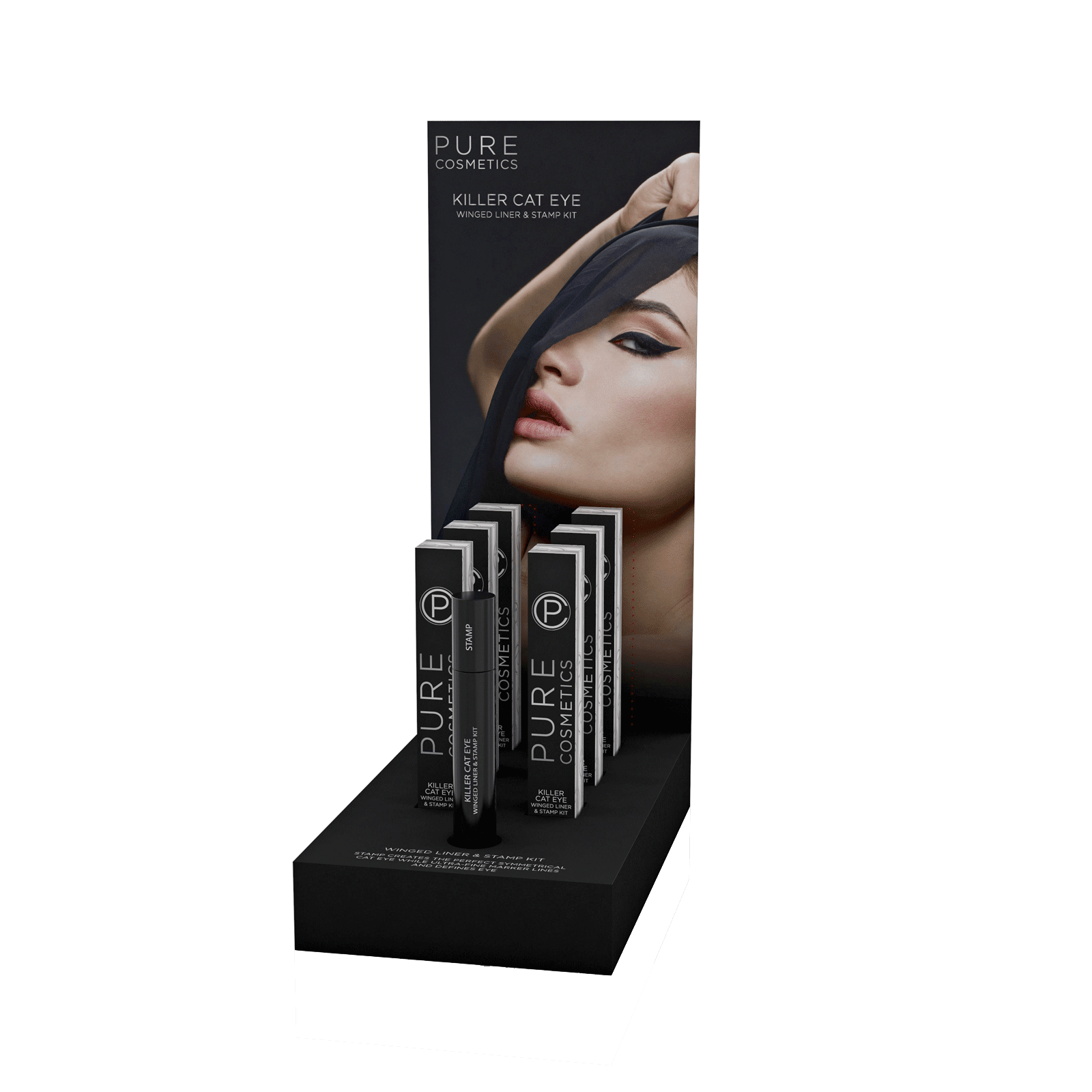Killer Kat Winged Eyeliner - 6 Count Display