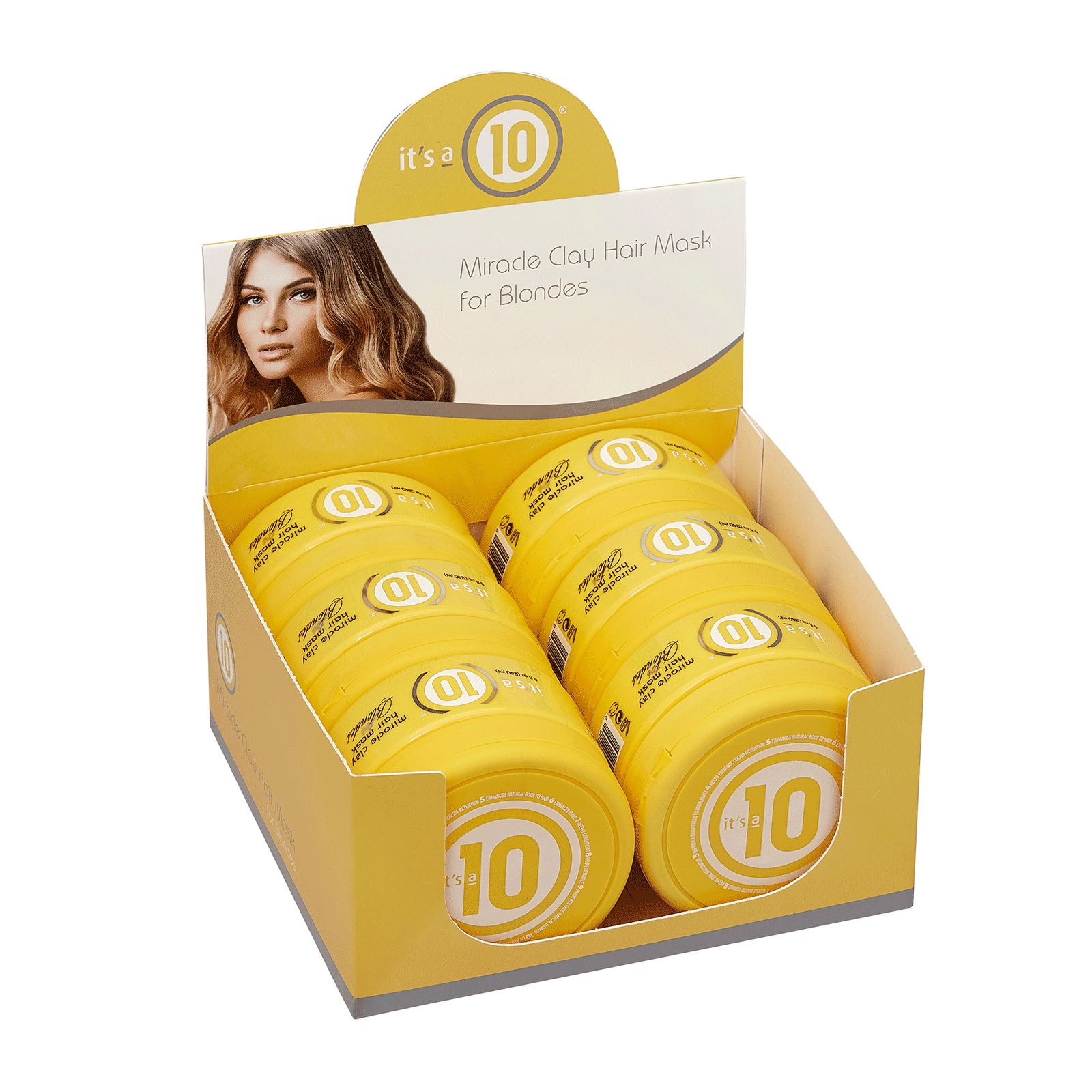 It's A Ten Blonde Clay Hair Mask - 5 Piece Display