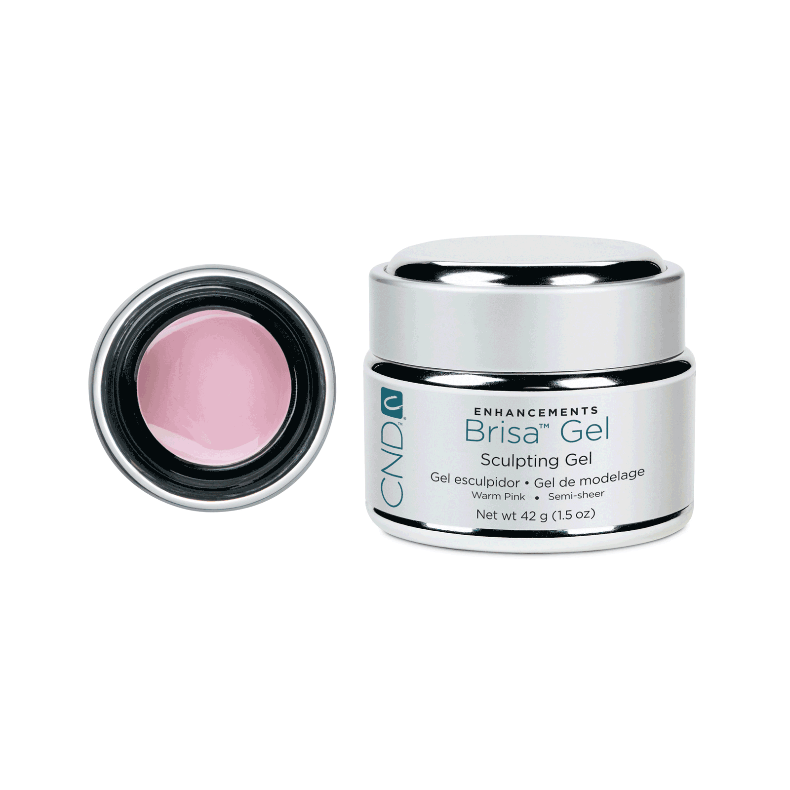 Sculpting Gel Warm Pink Semi Sheer
