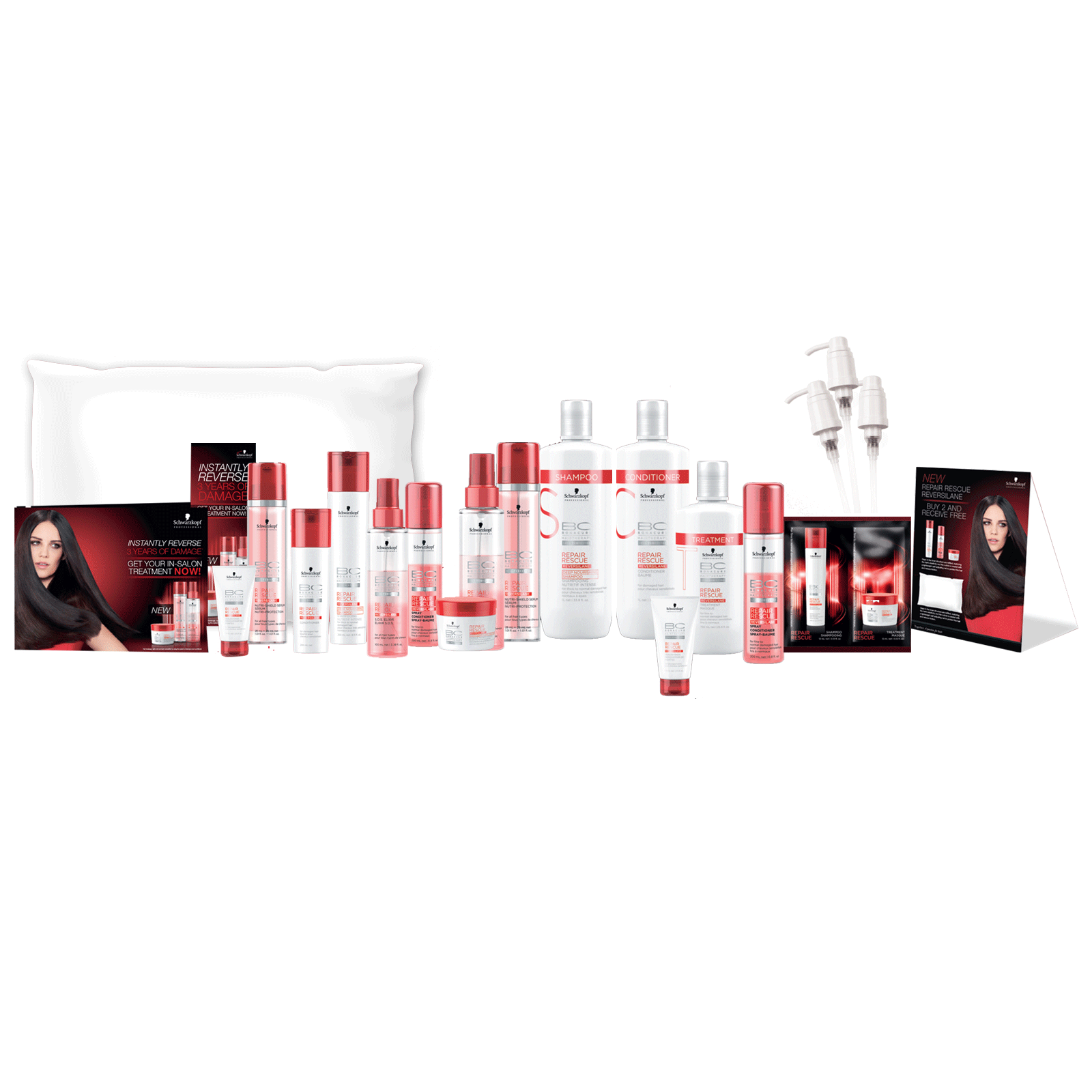 Repair rescue salon intro schwarzkopf cosmoprof for Beauty salon introduction
