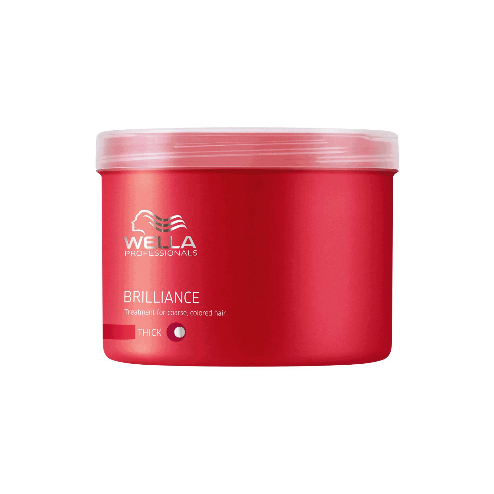 Brilliance Treatment For Coarse Colored Hair Wella Cosmoprof