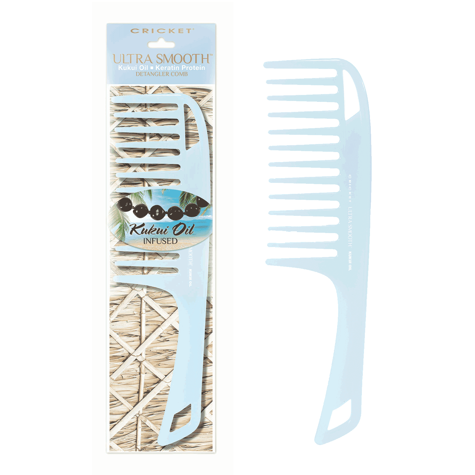 Ultra Smooth Kukui Oil Detangling Comb