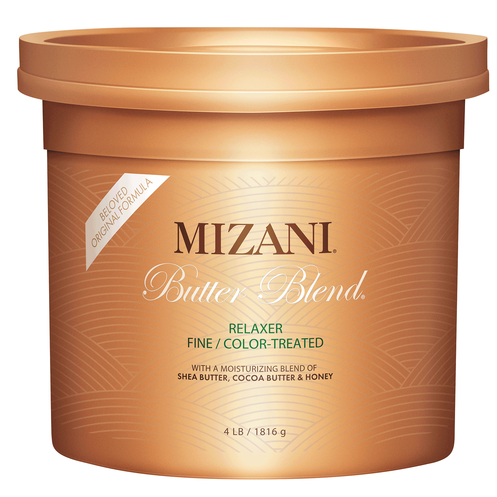 Butter Blend Relaxer For Finecolor Treated Hair 4 Lb Mizani