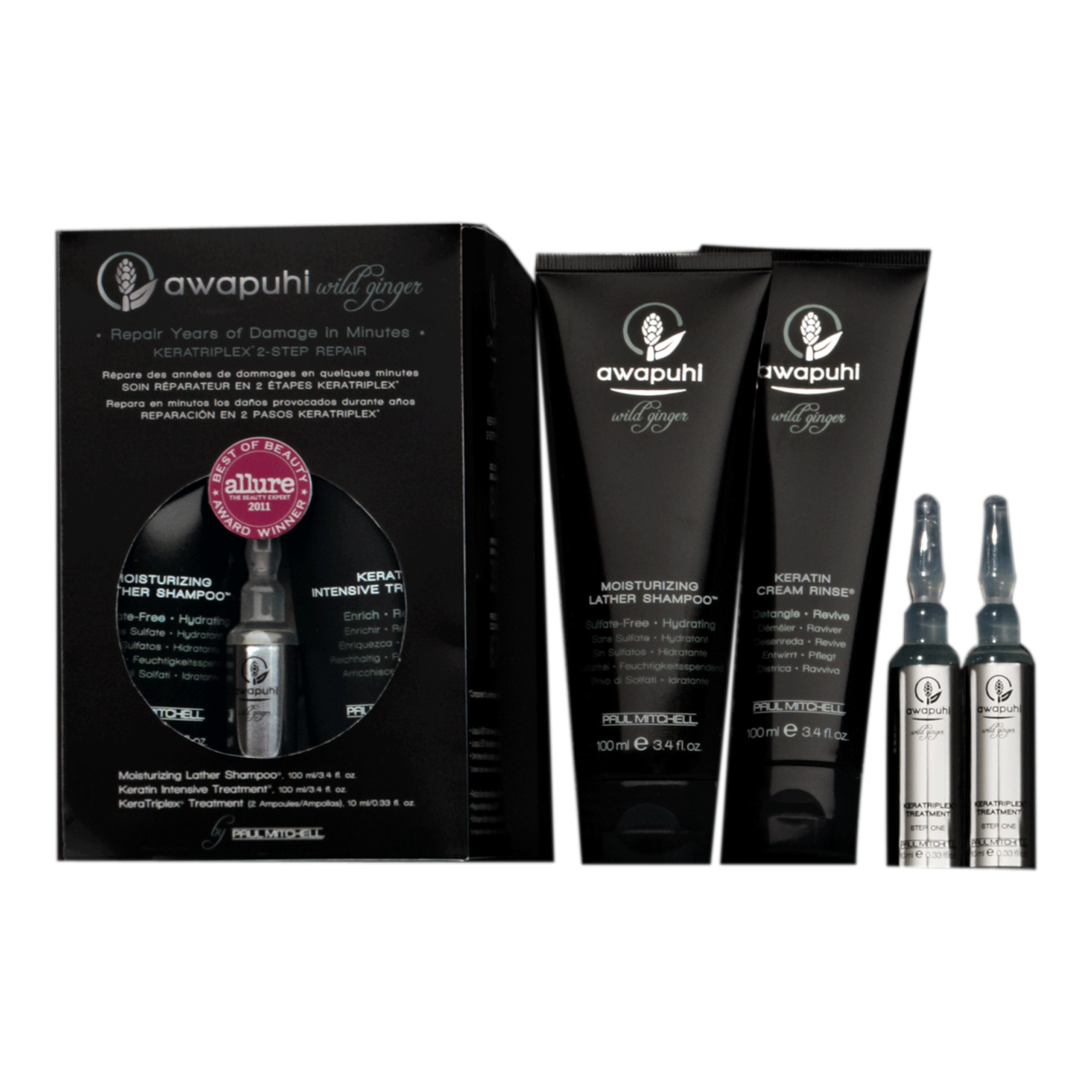 Awapuhi Wild Ginger® 2-Step Repair Kit