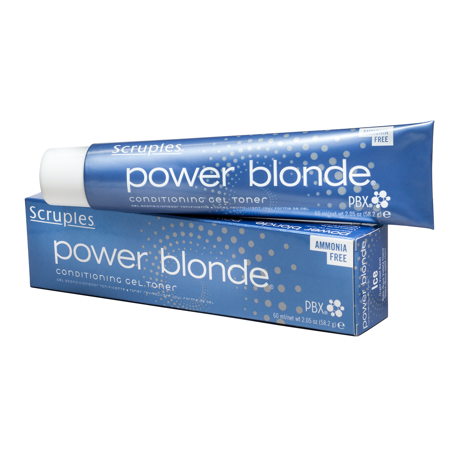 Power Blonde Conditioning Gel Toner - Steel