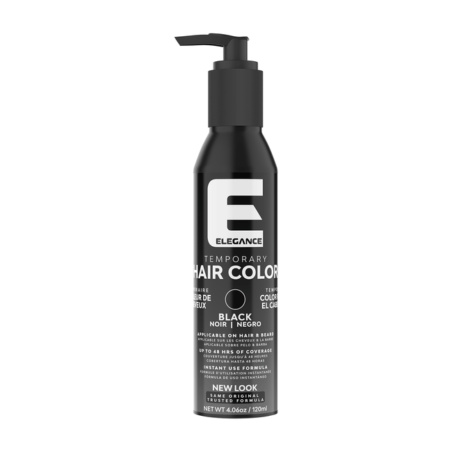 Temporary Hair Color - Black