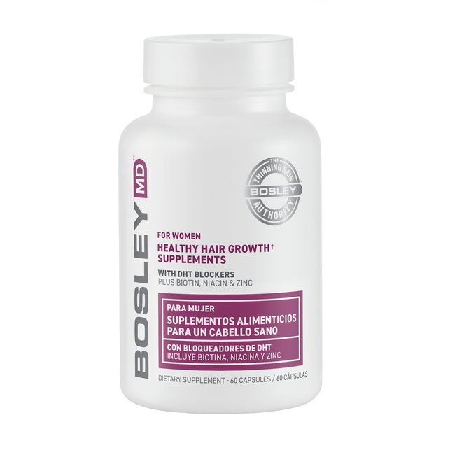 Healthy Hair Growth Supplement for Women - 60 Count