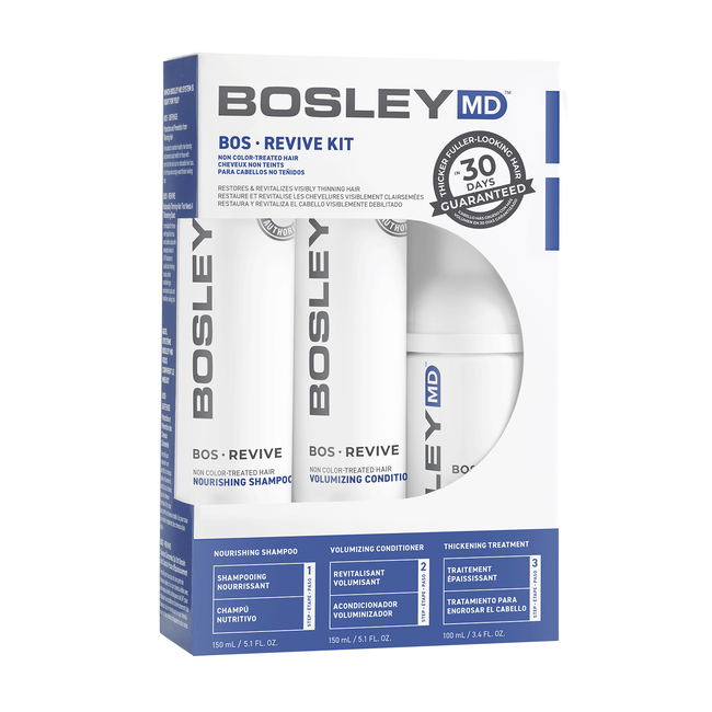 BosRevive Non Color-Treated Hair 30 Day Kit