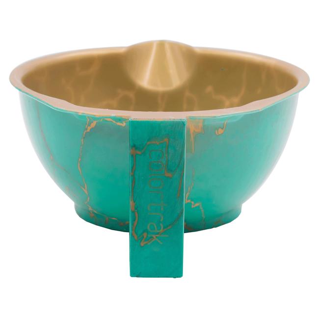 Elementals Aqua Blue Color Bowl