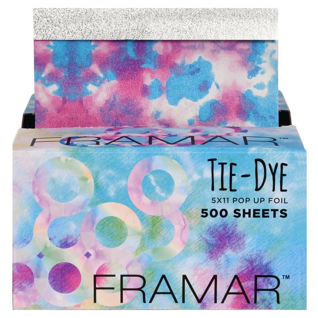 Tie Dye Pop-Up Foil - 500 Sheets