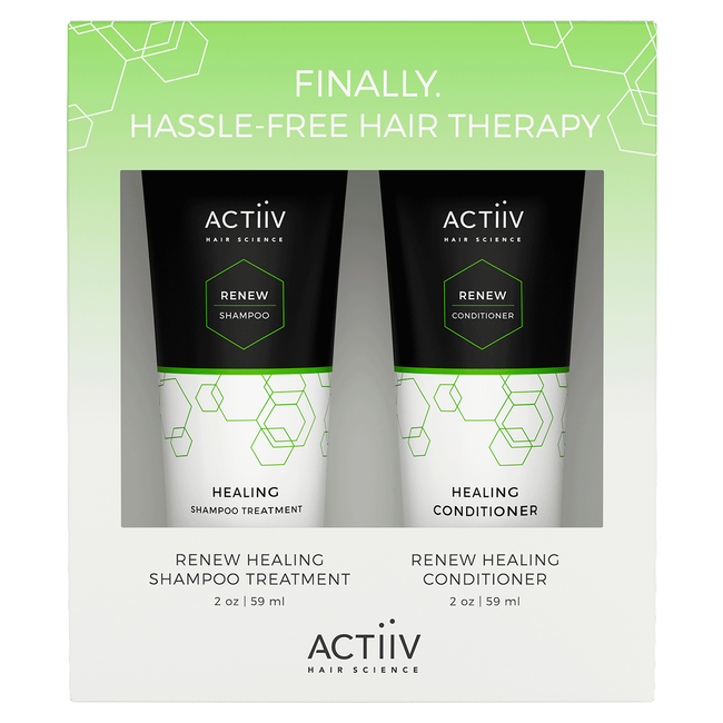 Active Renew Cleansing Treatment, Healing Conditioner