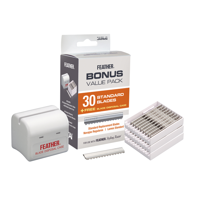 Feather Styling Razor Replacement Blades Bonus Pack