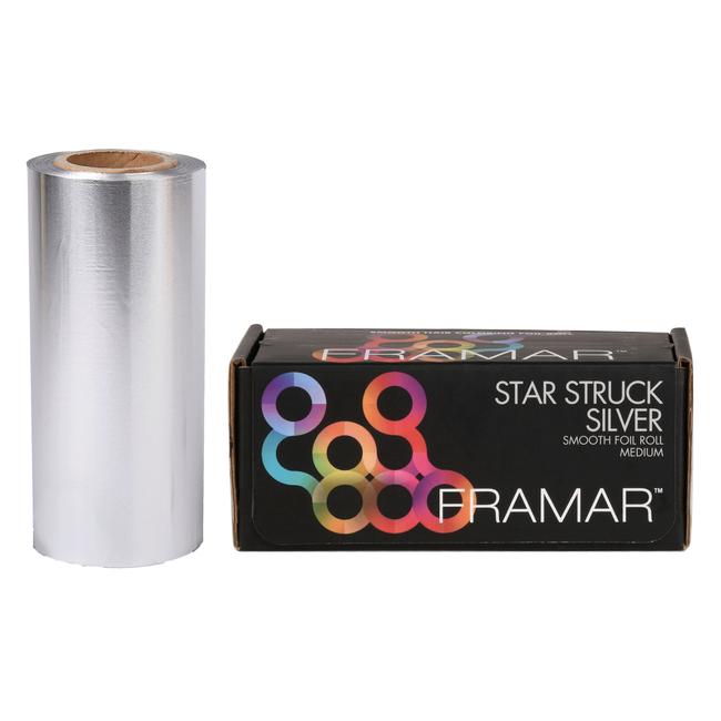 Star Struck Silver Foil Roll 5 x 2 Inches - 1 lb