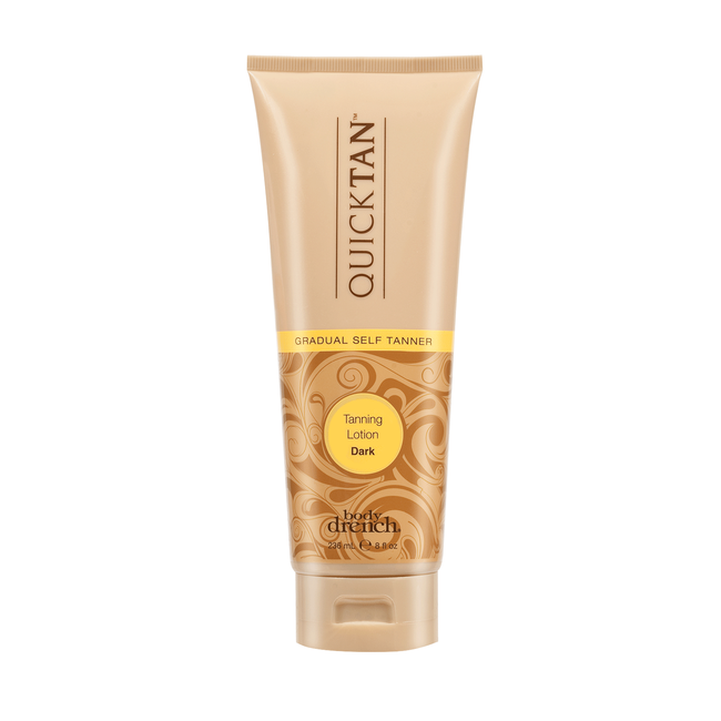 Quick Tan Gradual Self-Tanning Lotion - Dark