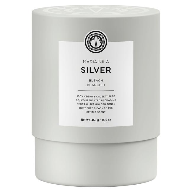 Silver Bleach Jar