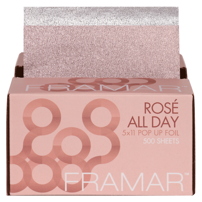 Rosé All Day Pop-Up Foil  5 x 11 Inch  - 500 Count