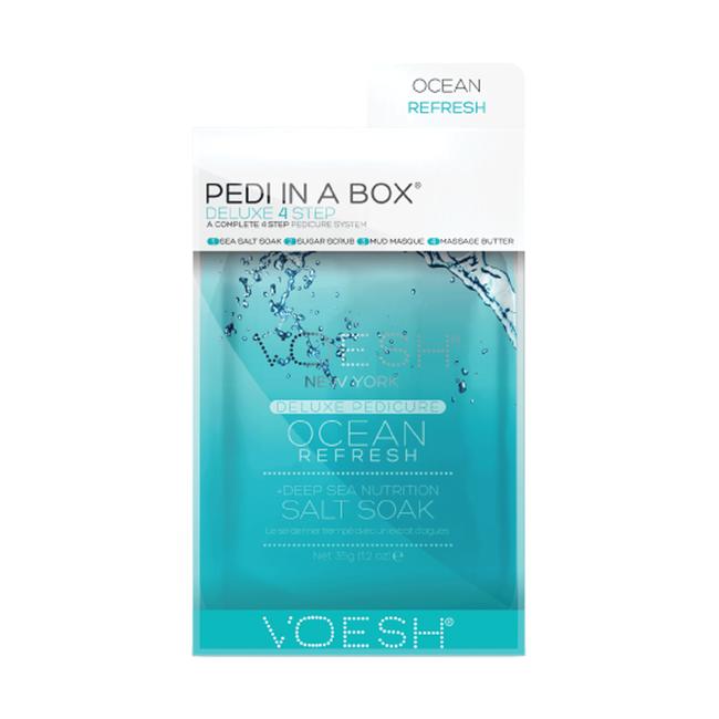 Deluxe 4-Step Pedi In A Box Ocean ReFresh
