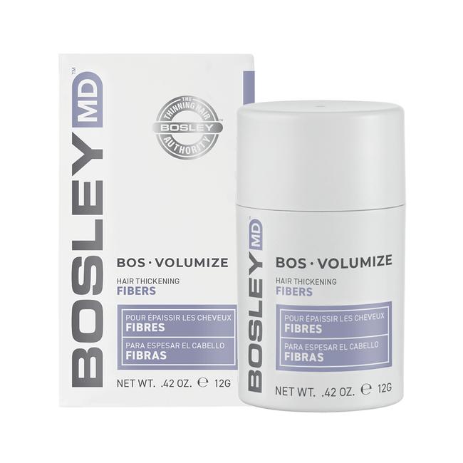 BosVolumize Hair Thickening Fibers - Light Brown