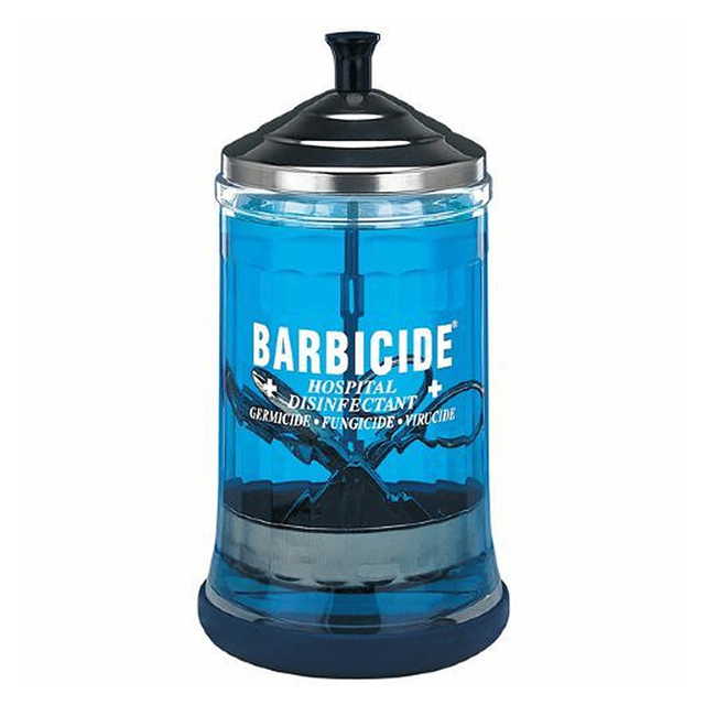 King Research Barbicide Mid-Size Manicure Jar