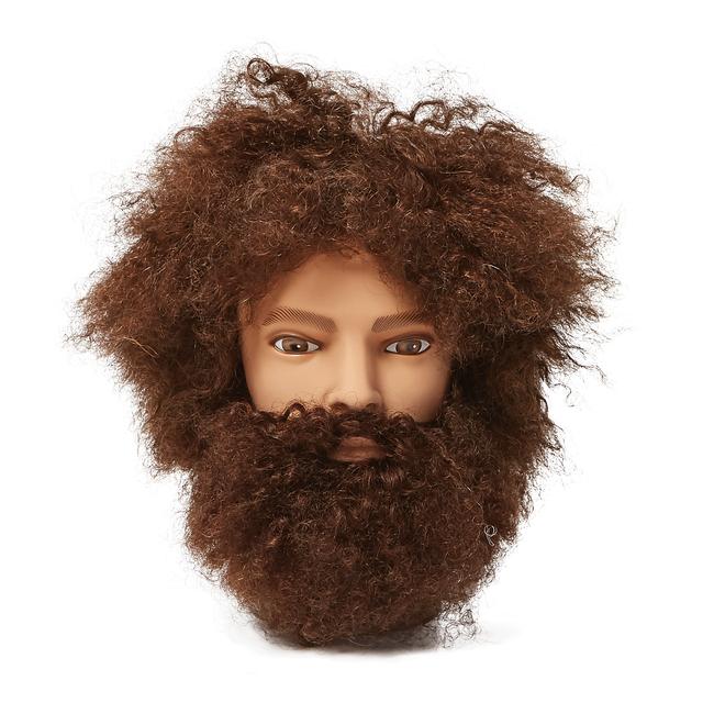 Salon Care Mr. Denton Afro Mannequin Head with Beard