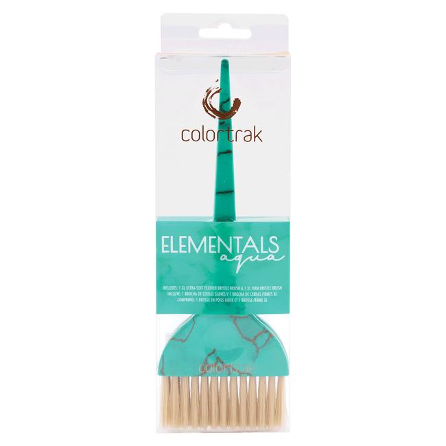 Elementals Aqua Blue Xtra Large Brushes - 2 Pack